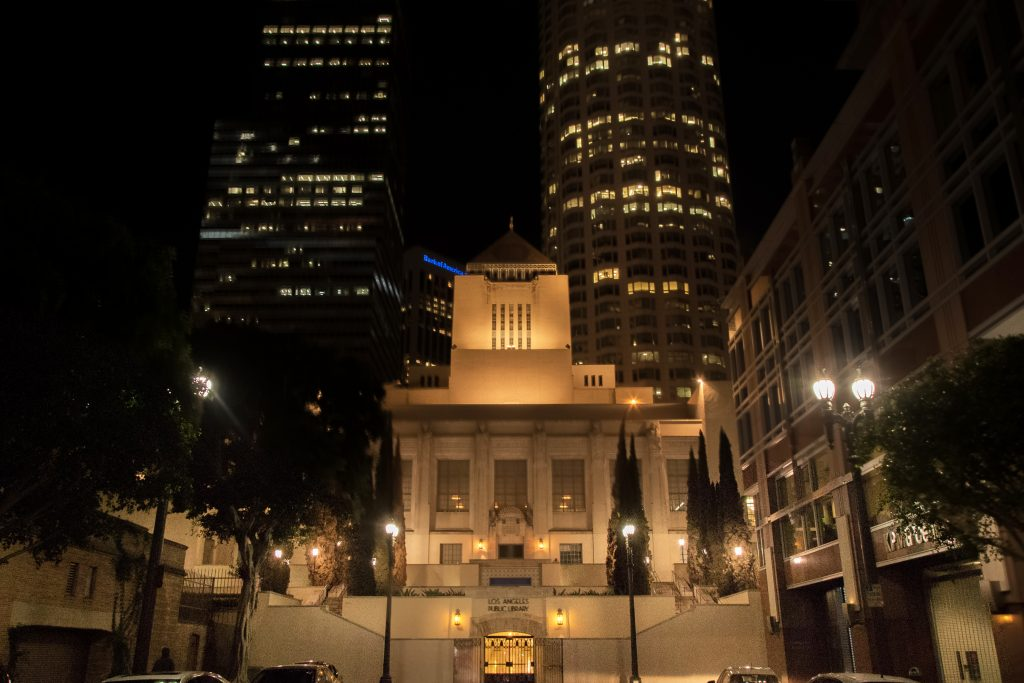 Los Angeles, C.A. Cut Energy Costs By 75 Percent In Its Historic Downtown  Area By Retrofitting Street Lights With Amerlux Avista LED Light Engines.