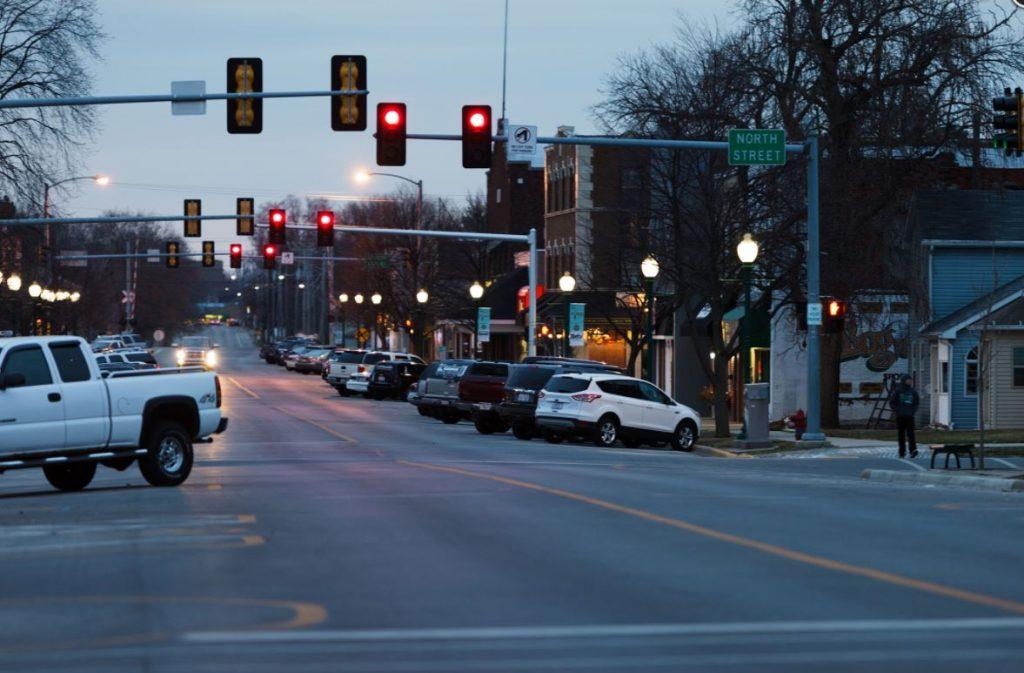 top streetlights